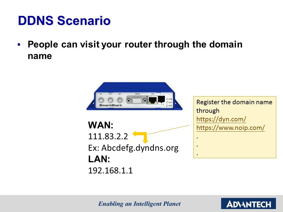 How to Configure DDNS? - Routers - FAQ - Engineering Portal